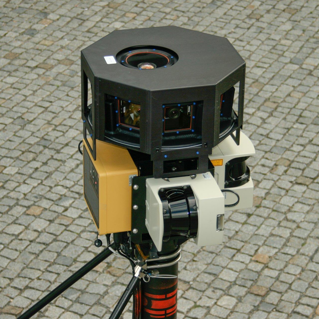 Laserscanner und Kameras