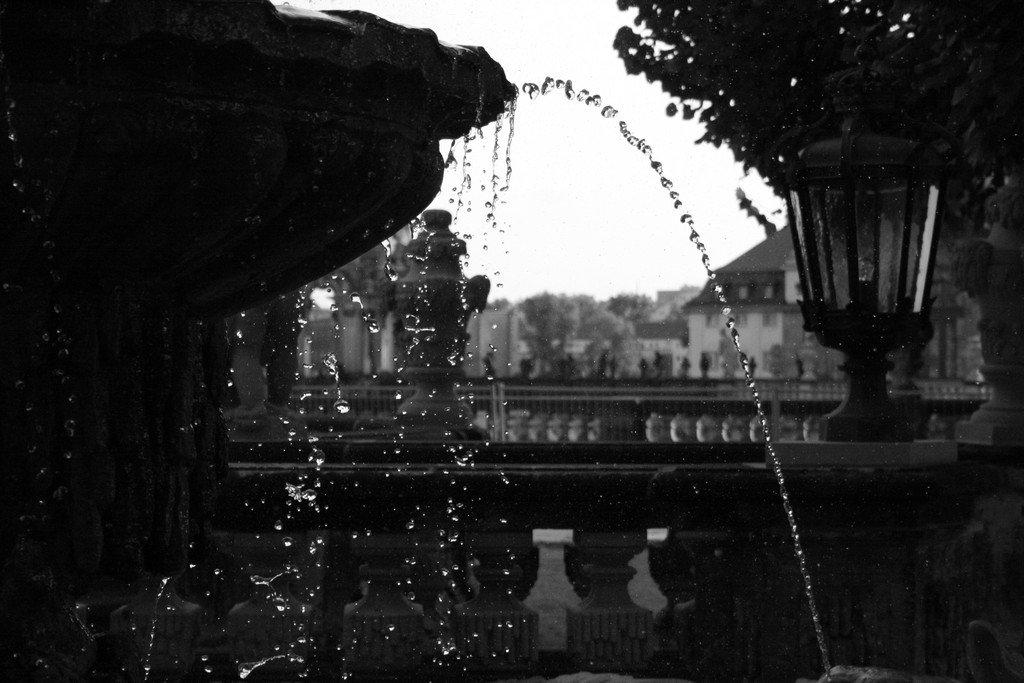 Brunnen im Zwinger