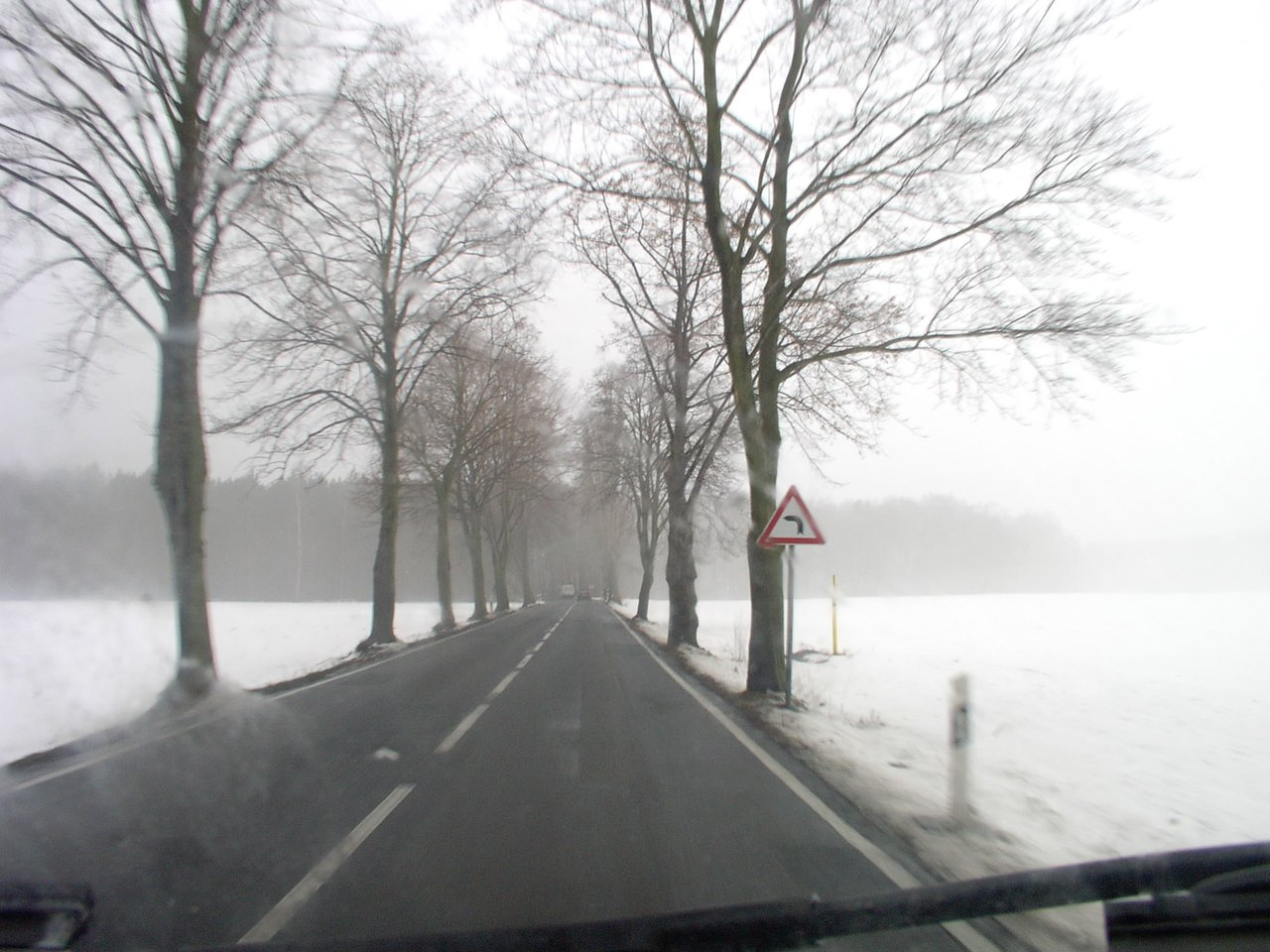 Left turn ahead