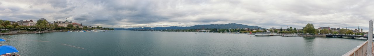 Zürich as seen from ETH